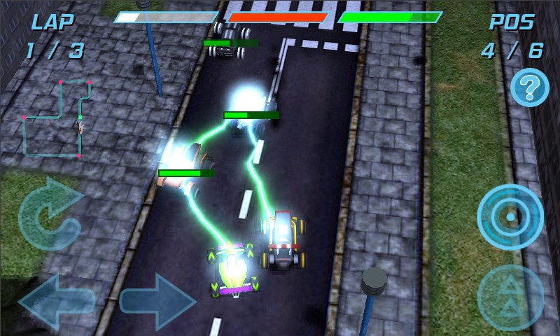 TeleRide Free Racing Game - Imagem 1 do software