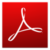 Logo Adobe Reader ícone