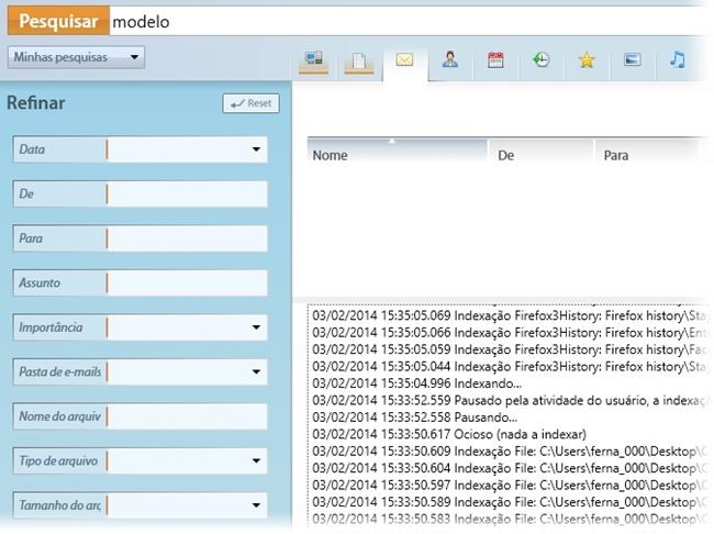 Copernic Desktop Search - Imagem 2 do software