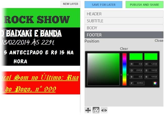 Flyer Lizard - Imagem 2 do software