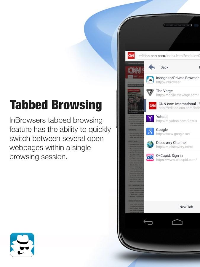 InBrowser - Browser Incógnito - Imagem 2 do software