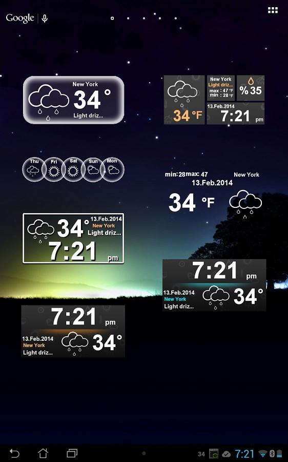 Weather Clock - Imagem 2 do software