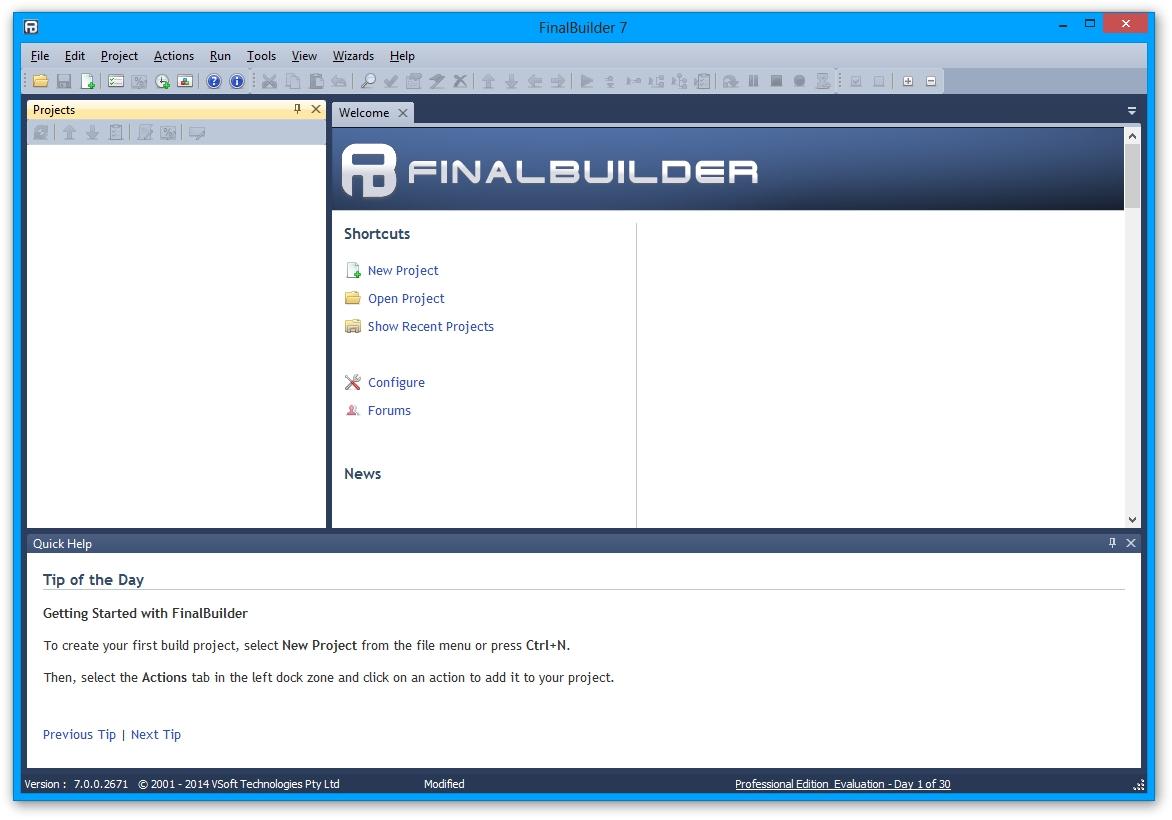 FinalBuilder
