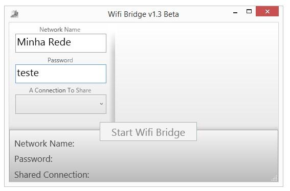 WiFi Bridge - Imagem 1 do software