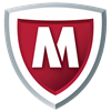 Logo McAfee Antivirus & Security ícone