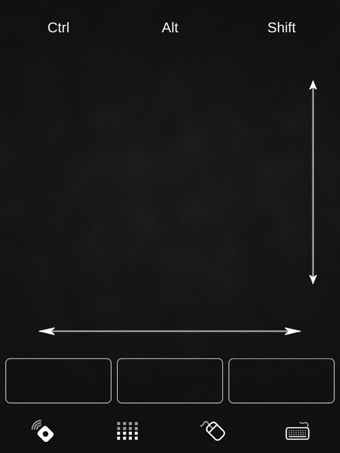 Q Remote Control - Imagem 2 do software
