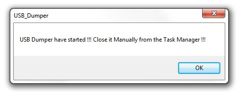 USB Dumper - Imagem 1 do software