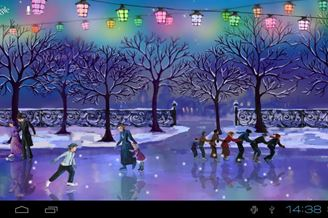 Christmas Rink Live Wallpaper Download Para Android Grátis