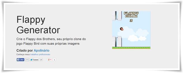 Flappy Generator - Imagem 1 do software