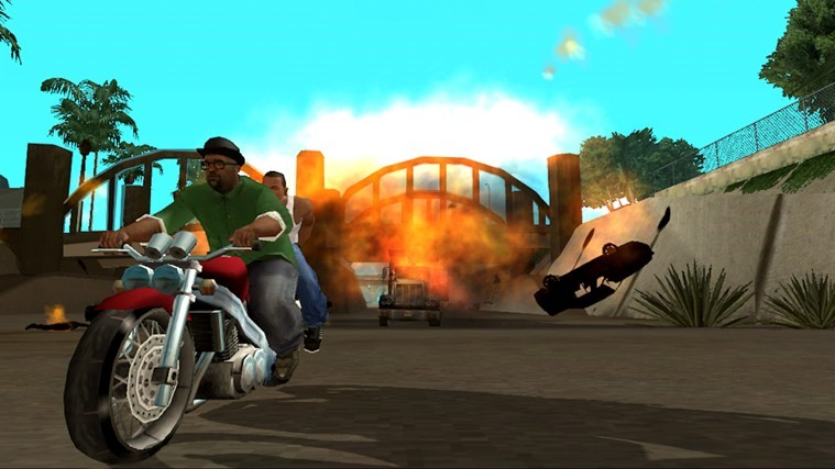 Grand Theft Auto: San Andreas.