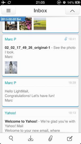 LightMail - Imagem 1 do software