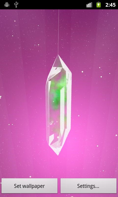 lucky crystal live wallpaper download