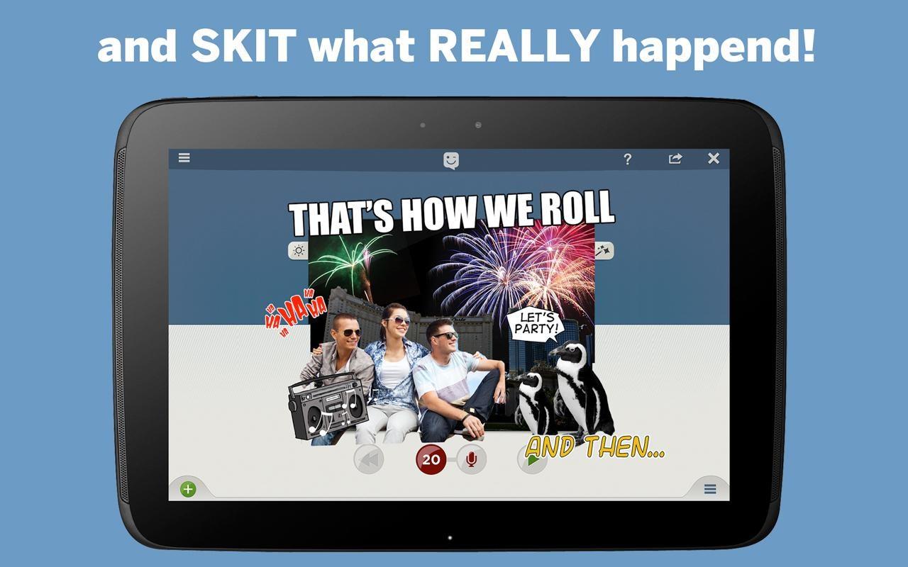 SKIT! Animated Video Maker - Imagem 1 do software