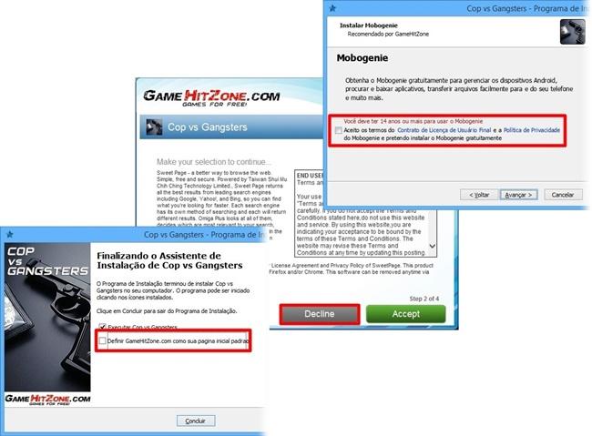 Cop vs Gangsters - Imagem 2 do software