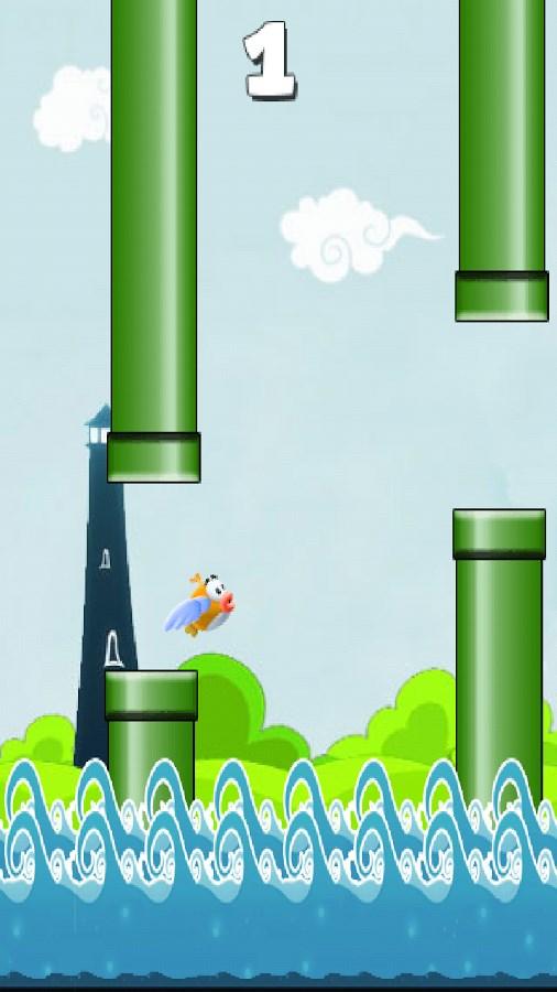 Super Flappy Fish - Imagem 1 do software