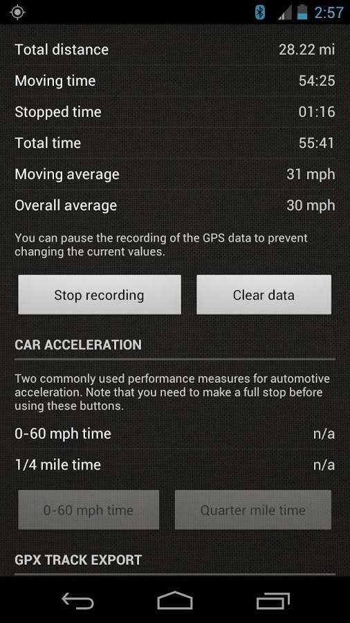 SpeedView: GPS Speedometer - Imagem 2 do software
