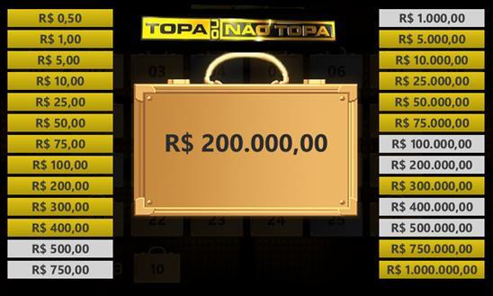 Topa ou não topa - Imagem 1 do software