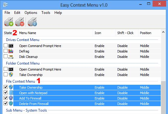 Easy Context Menu - Imagem 1 do software