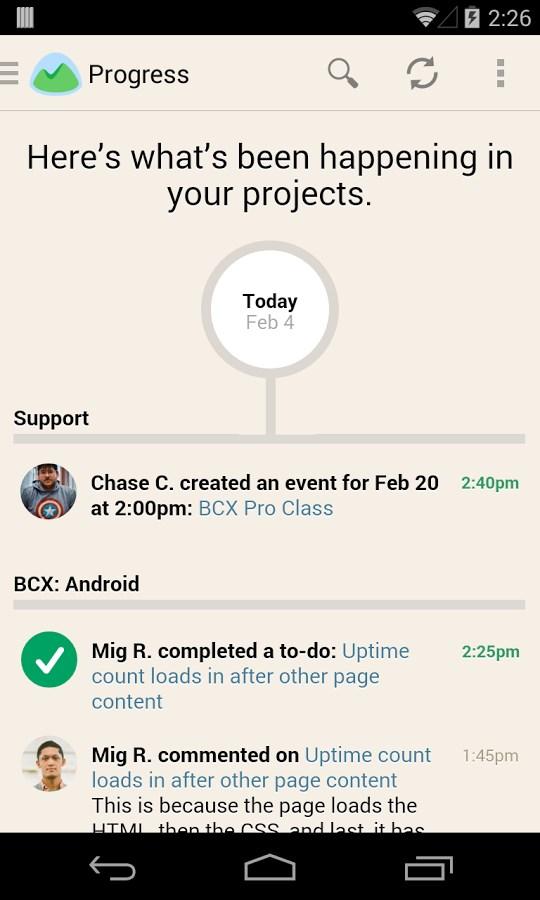 Basecamp - Official App - Imagem 1 do software