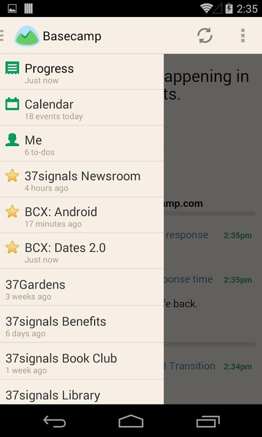 Basecamp - Official App - Imagem 2 do software