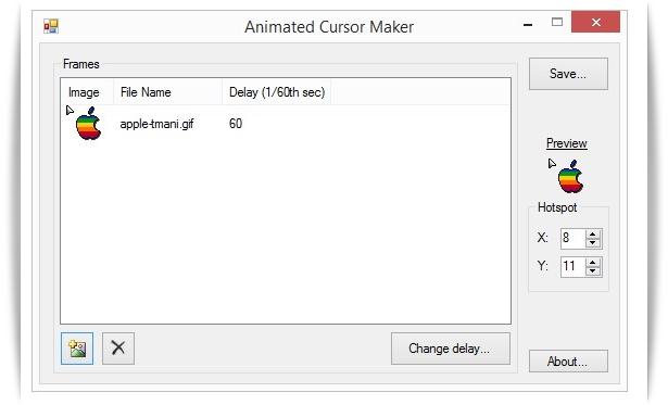 Animated Cursor Maker - Imagem 1 do software
