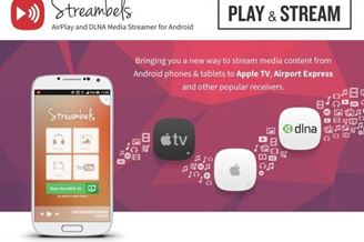 Streambels AirPlay/DLNA Player Download to Android Grátis
