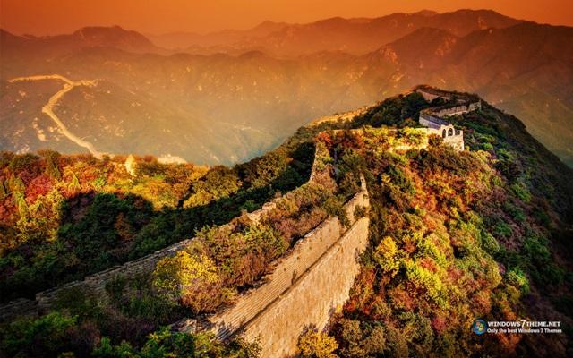 Great Wall of China Windows 7 Theme - Imagem 1 do software