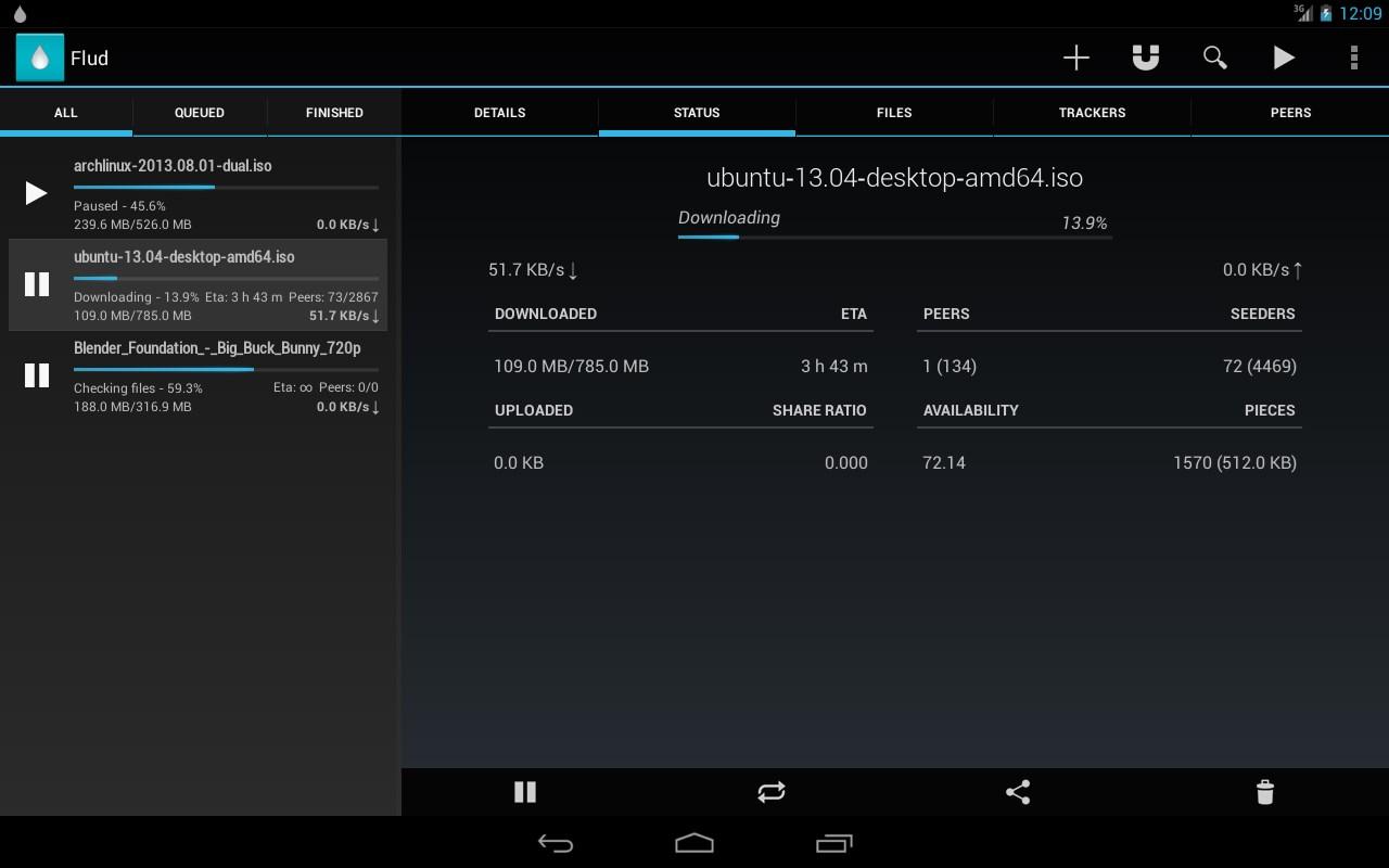 Flud - Torrent Downloader Download para Android Grátis