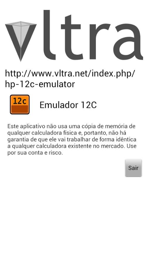 GRATIS 12C VIRTUAL CALCULADORA BAIXAR HP