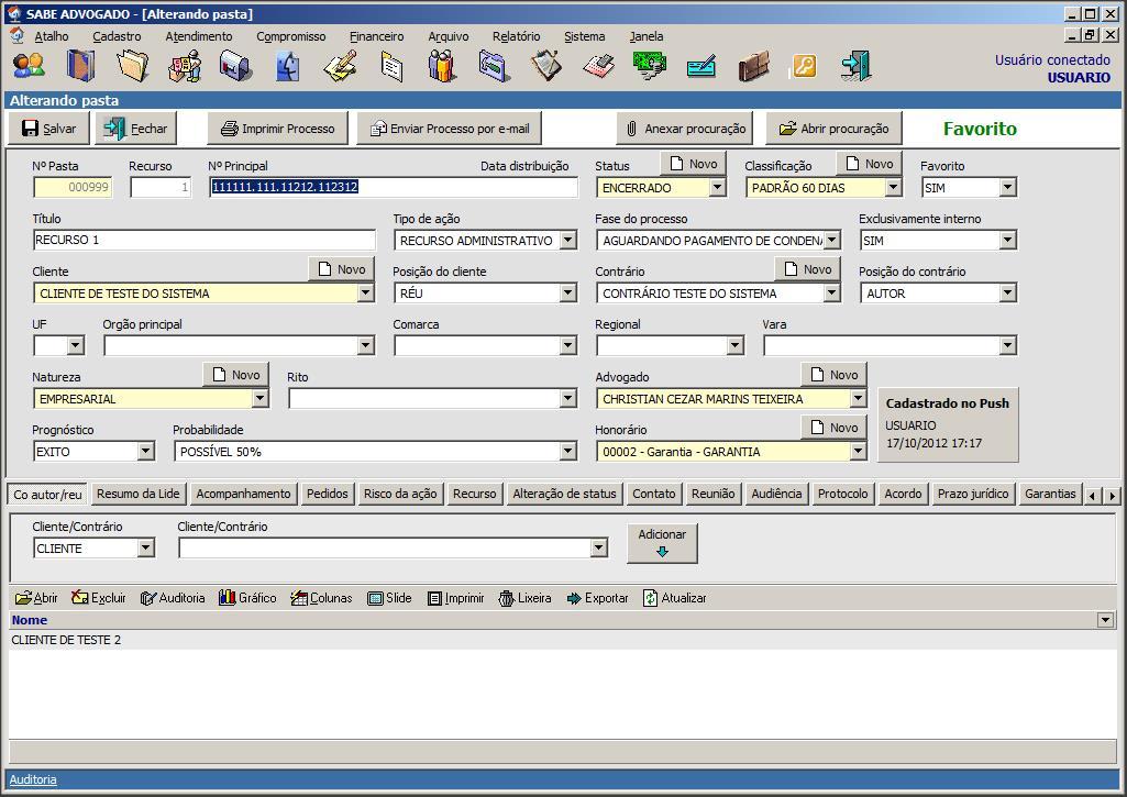 Sabe Advogado - Imagem 2 do software