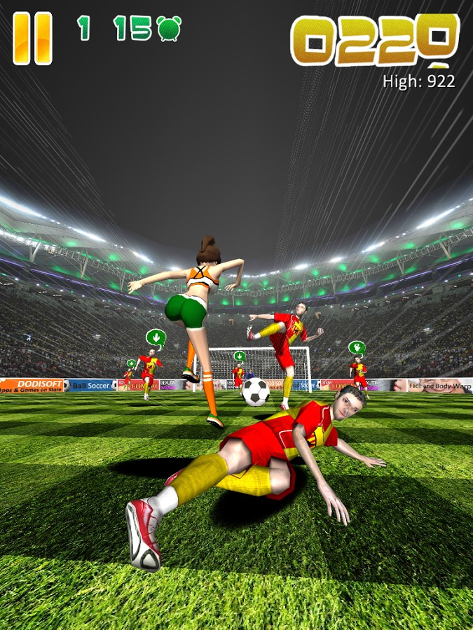 Ball Soccer (Flick Football) - Imagem 1 do software