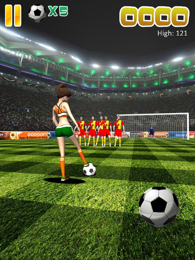 Ball Soccer (Flick Football) - Imagem 2 do software