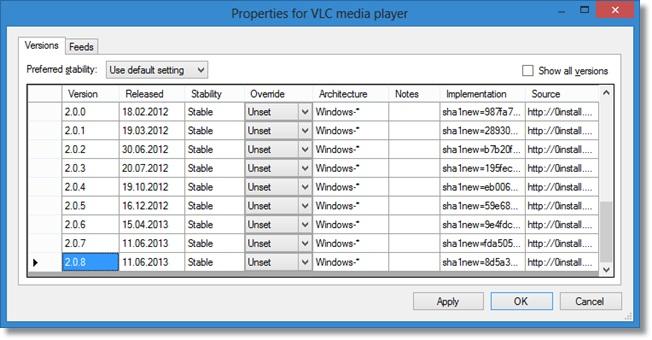 Zero Install - Imagem 2 do software