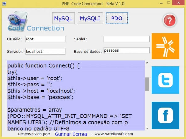 PHP Code Connection - Imagem 1 do software