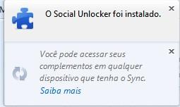 Social Unlocker para Firefox - Imagem 1 do software