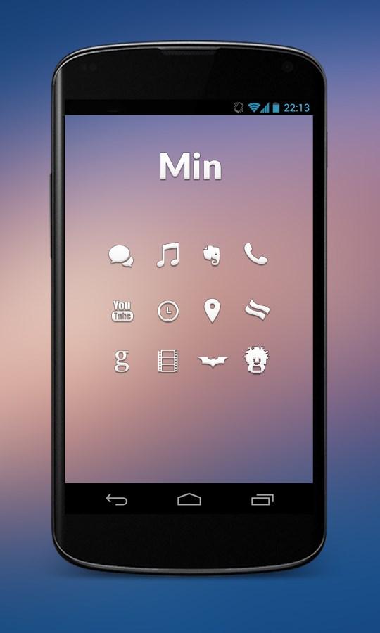 Min - Icon Pack - Imagem 1 do software