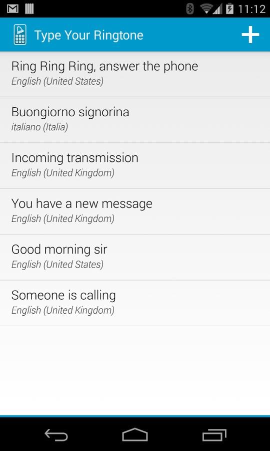 Type Your Ringtone Lite - Imagem 1 do software