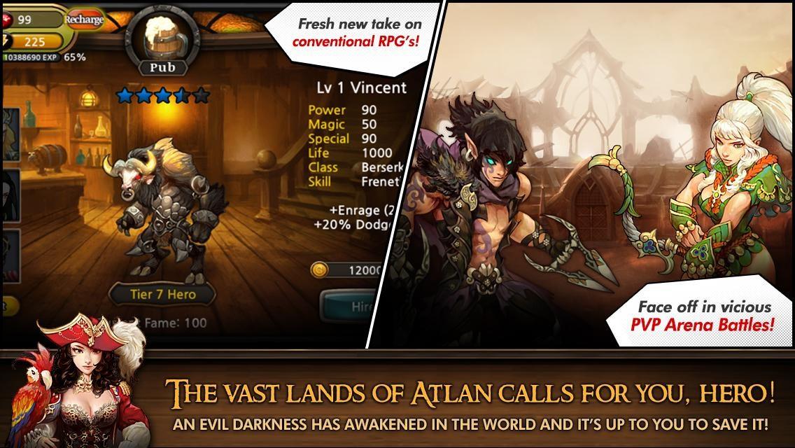 Heroes of Atlan - Imagem 1 do software
