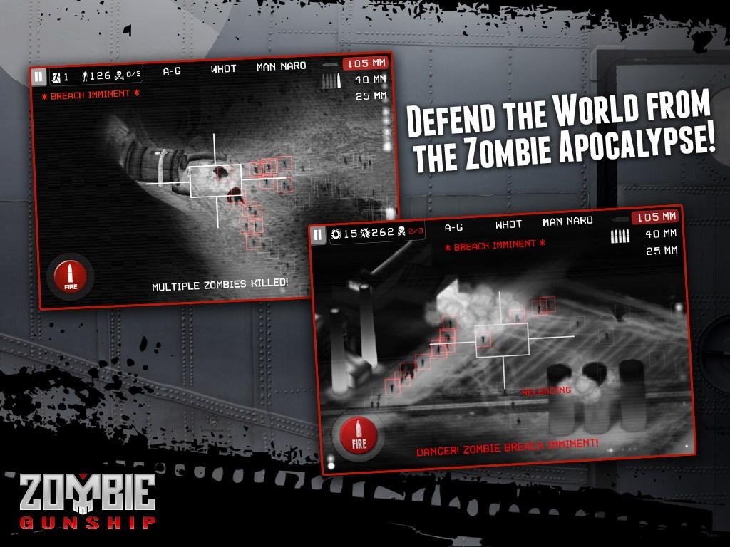 Zombie Gunship Zero - Imagem 1 do software