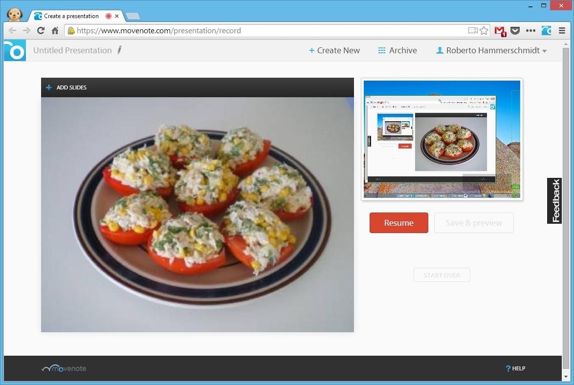 Movenote para Chrome - Imagem 1 do software