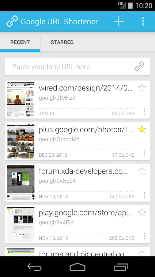 Google URL Shortener - Imagem 1 do software