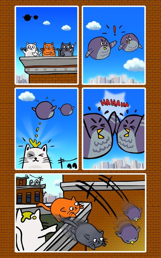 Cats Vs Birds - Imagem 1 do software