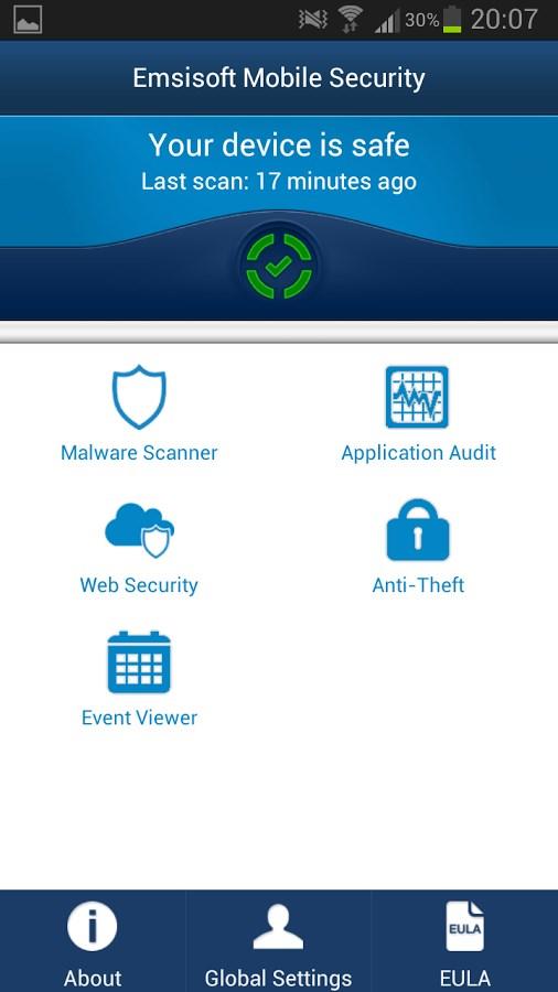 Emsisoft Mobile Security - Imagem 1 do software