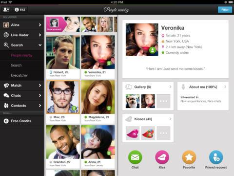 Dating app lovoo chat