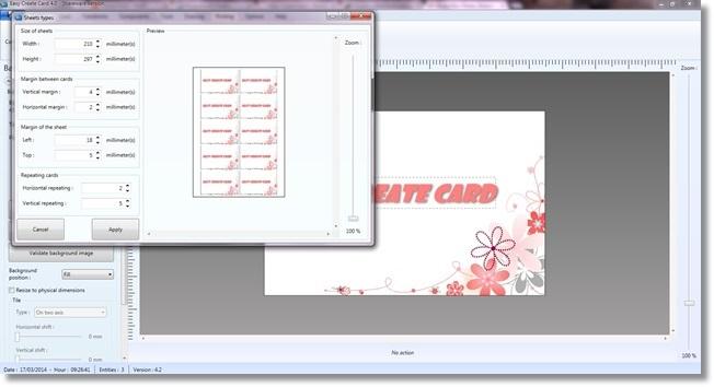 Easy Create Card - Imagem 1 do software