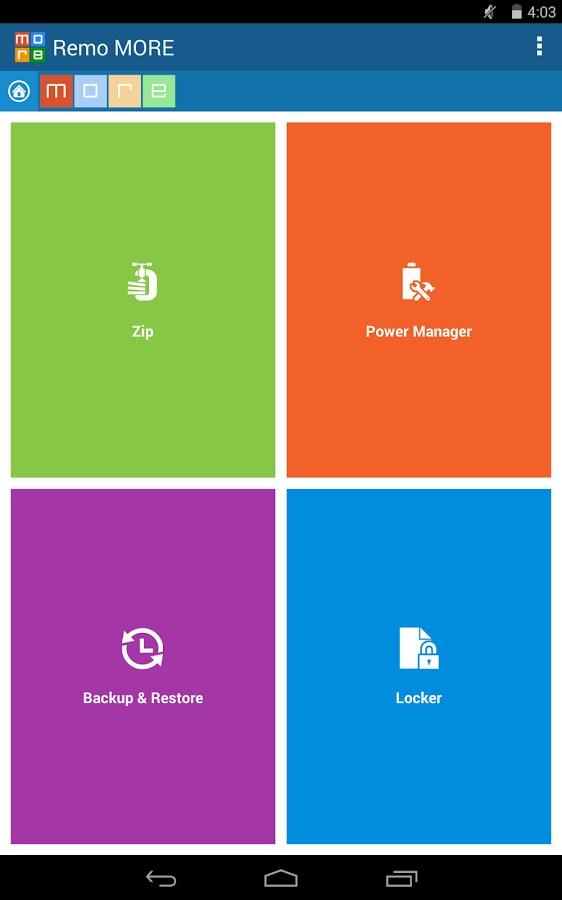 Remo MORE - FREE - Imagem 1 do software