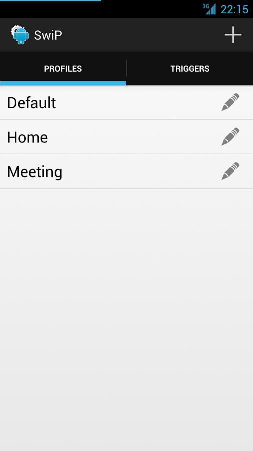 SwiP – ProfileSwitcher [Beta] - Imagem 1 do software