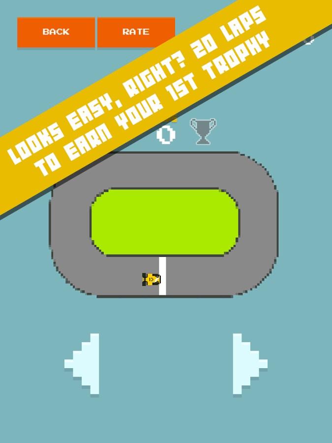 Squiggle Racer 8 Bit Race Game - Imagem 2 do software