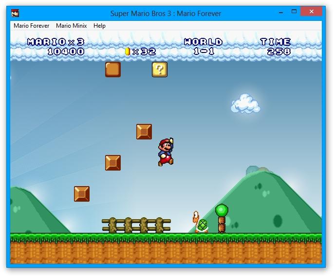 Mario Forever gameplay
