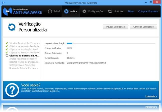 Malwarebytes Anti-Malware - Imagem 2 do software